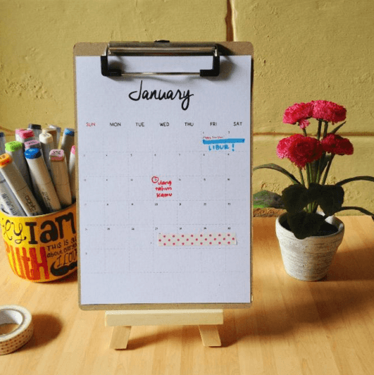 calender planner