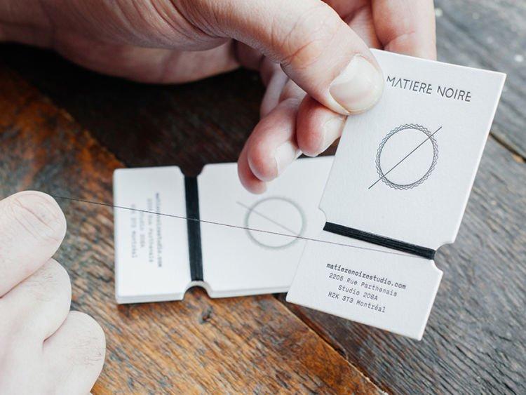 Kalau kartu namanya unik gini, pasti nggak akan lupa kan! Via