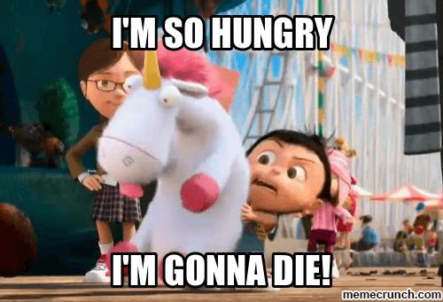 Bisa jadi karena lapar....