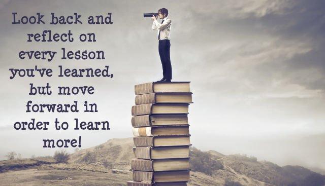 setiap kesalahan pasti ada nilai yang dijadikan pelajaran