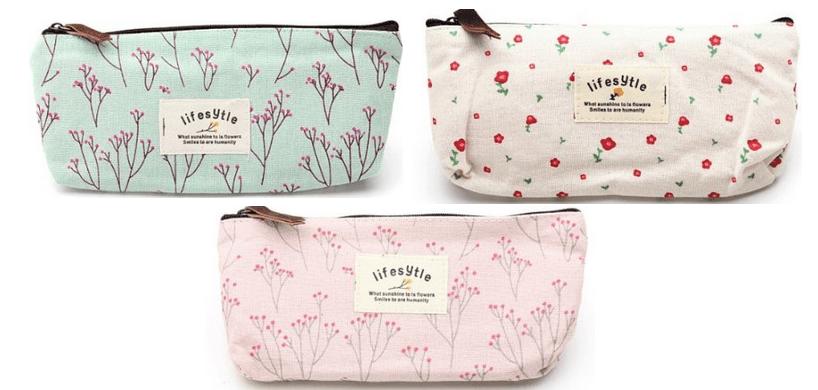 Pisahkan barang-barangmu dalam pouch berbeda