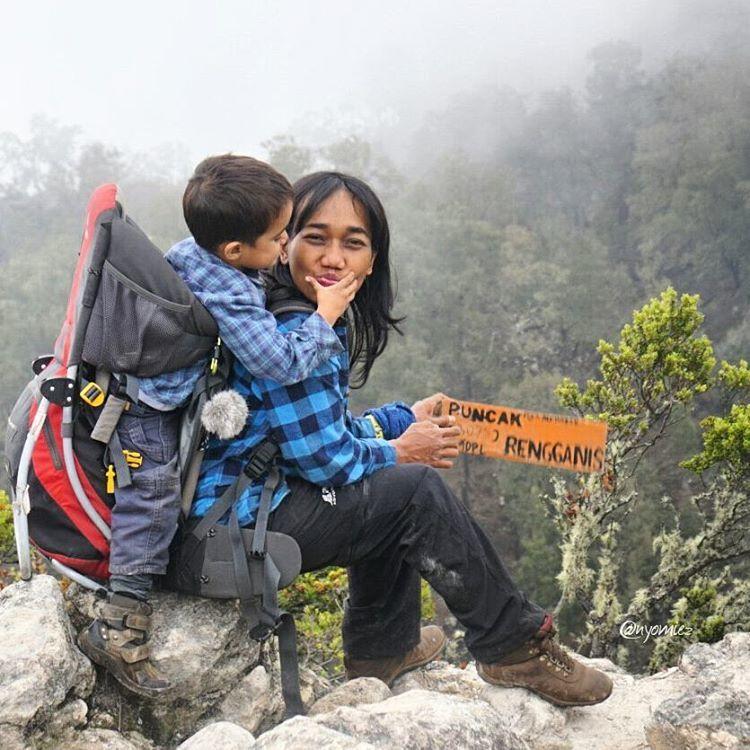 Puncak Rengganis, Gunung Argopuro, Jawa Timur.