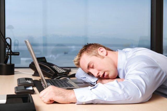 Tidur di Kantor