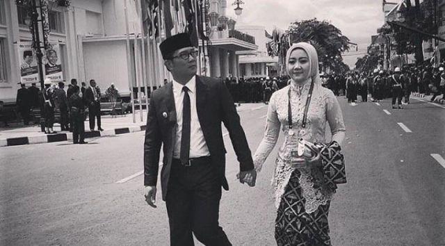 Seperti Pak Ridwan Kamil yang bersyukur dipilih istrinya