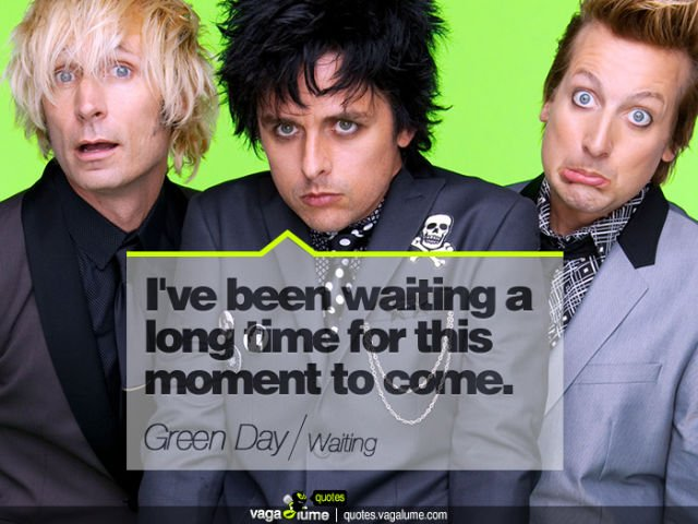 green day_waiting