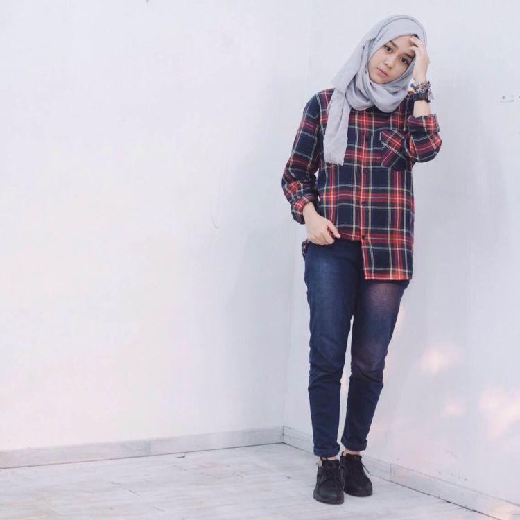 10 Gaya Jeans Yang Tetap Sopan Dan Nyaman Buat Kamu Cewek Berhijab