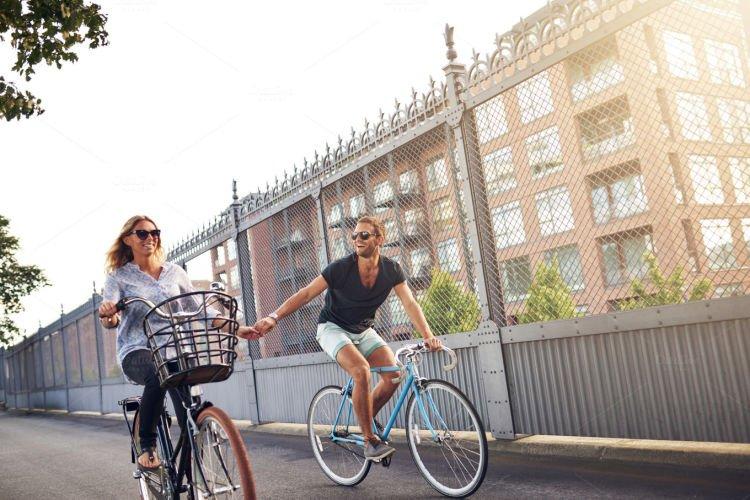 Ajakan jalanmu diterima meski cuman ngajal bersepeda doang