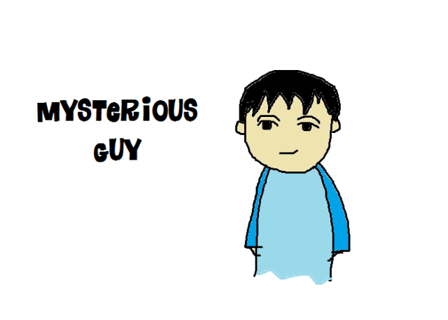 Mysterious guy