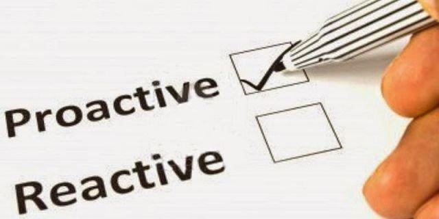 Bersikap Tegas & Proaktif