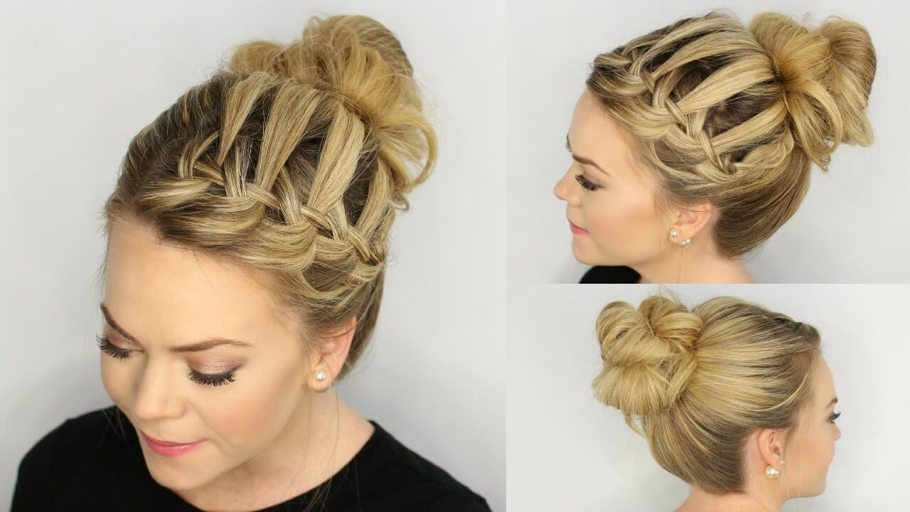 Bosan Dengan Gaya Rambutmu Yang Biasa Ide Kepang Rambut Ini - Hairstyle rambut pendek ke pesta
