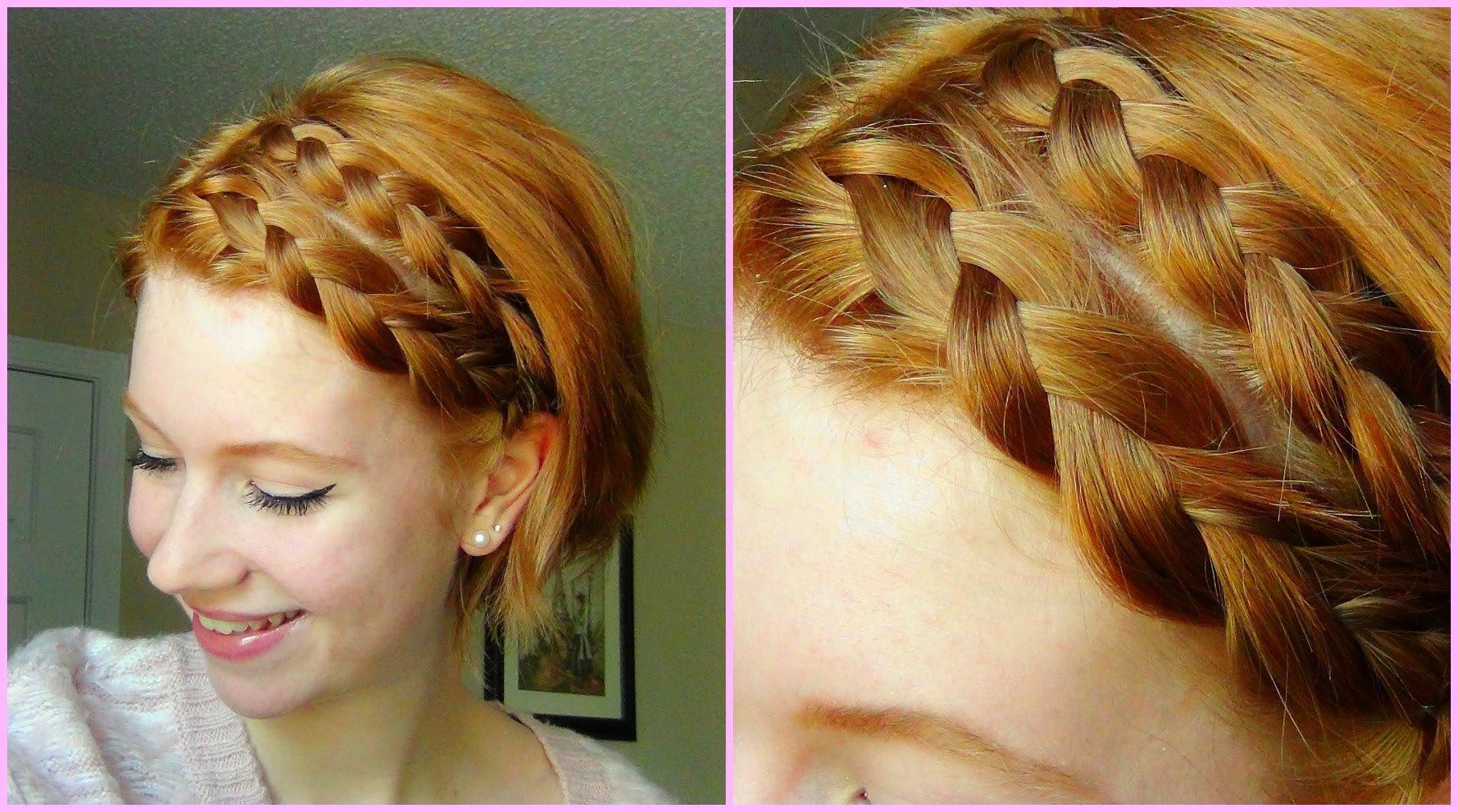 Bosan Dengan Gaya Rambutmu Yang Biasa Ide Kepang Rambut Ini - Gaya rambut pendek kepang