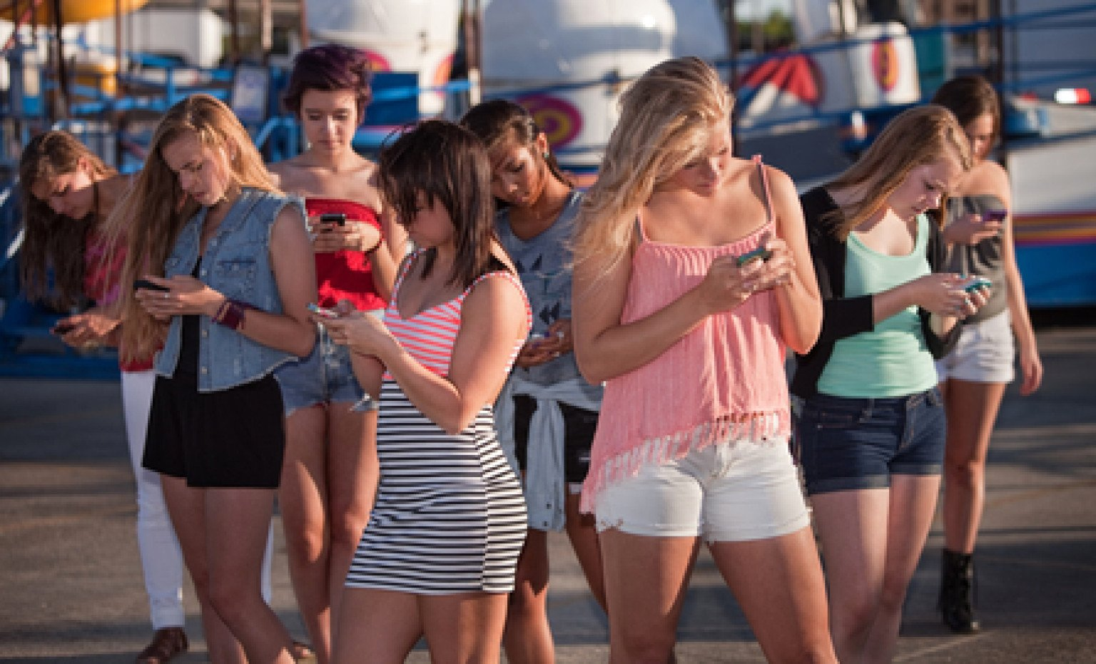 Smartphone Addiction May Affect 50% Of Teens.