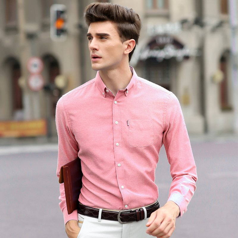 Mens Slim Dress Shirts