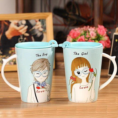 Mug selalu jadi kado yang romantis.