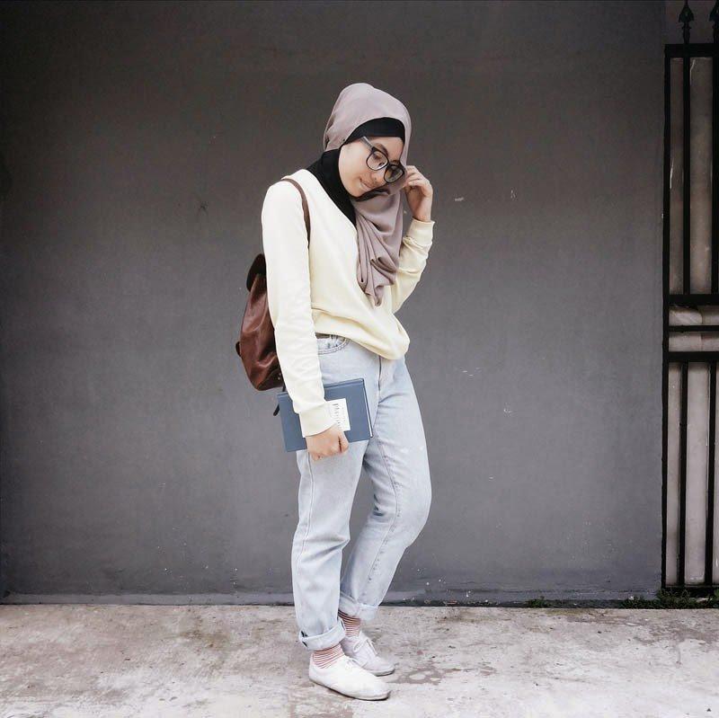 9 Style Yang Nggak Biasa Buat Ke Kampus Buat Kamu Cewek Cewek Selaw Dan Ogah Ribet