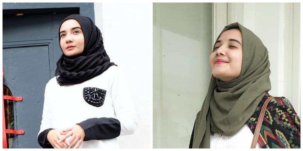 54 Model Jilbab Yang Cocok Untuk Wajah Oval Inspirasi Top