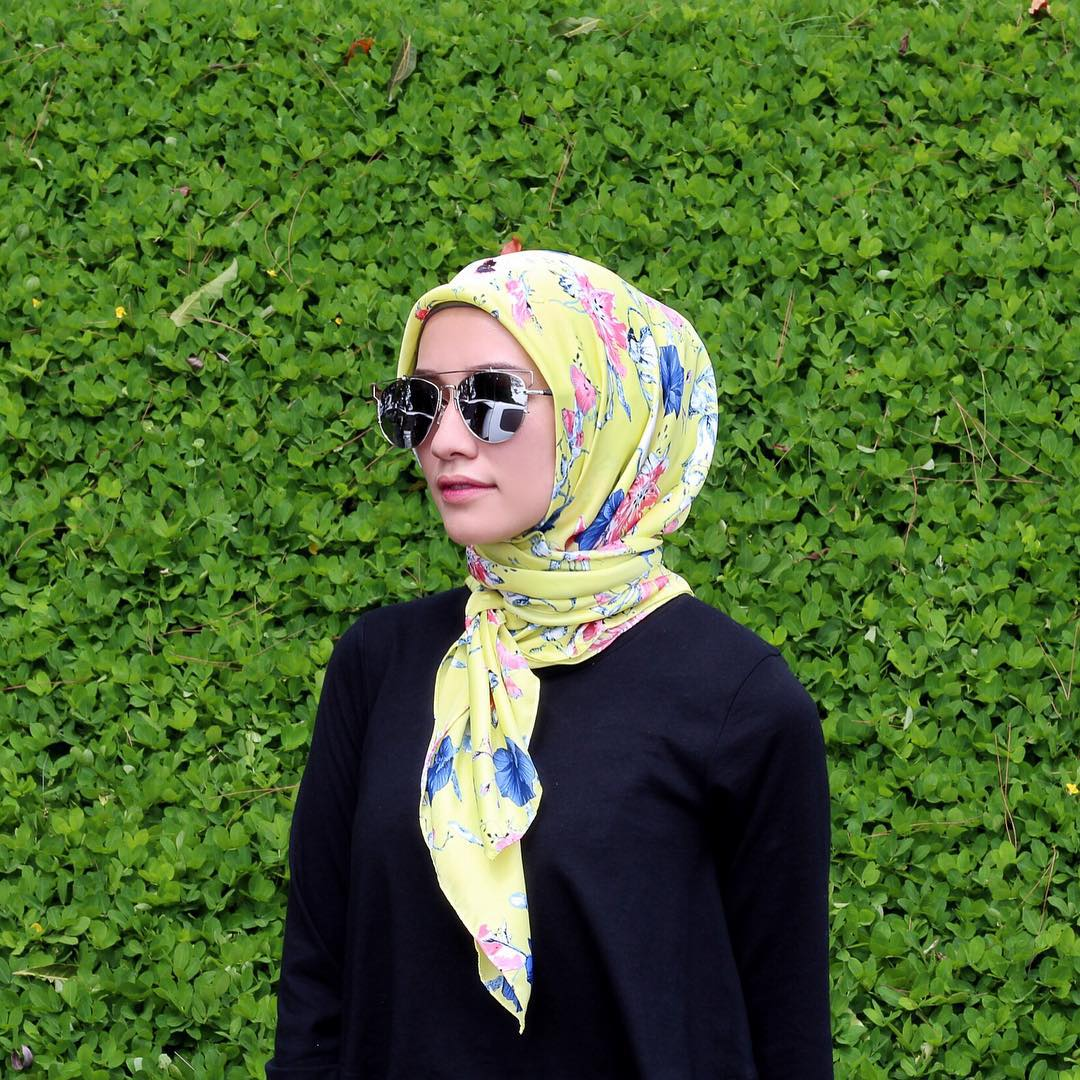 Gambar Tutorial Hijab Ala Ibu Pejabat Tutorial Hijab