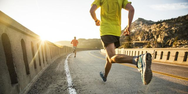 Joging pagi biar sehat