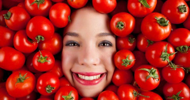tomat bisa bikin kamu cantik~
