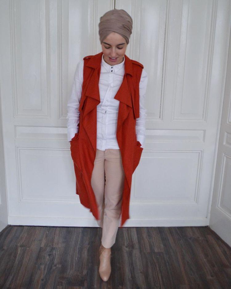 Dijadikan outer adalah pilihan tepat @fashion_by_sen