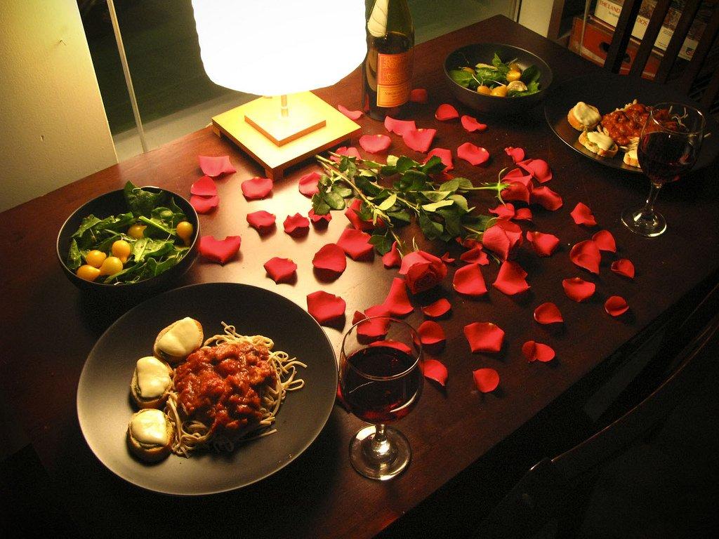 Что приготовить для романтического вечера с мужем