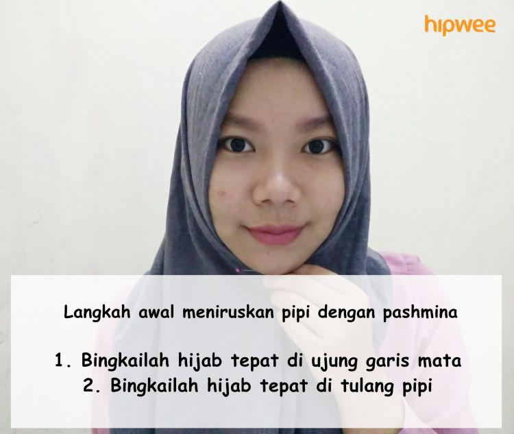 bingkai hijab yang sesuai