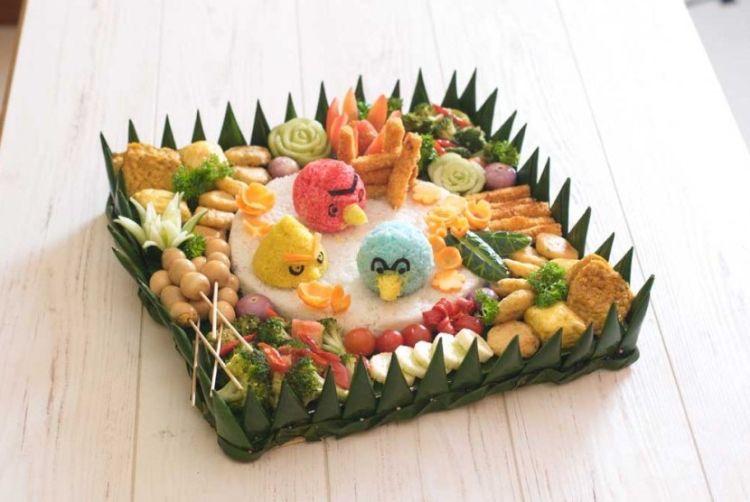 nasi angry bird~