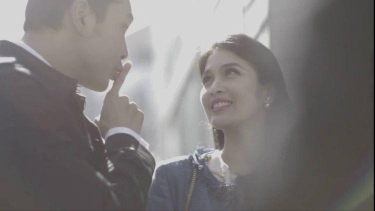 Culikan gambar dari video prewedding Sandra-Harvey.