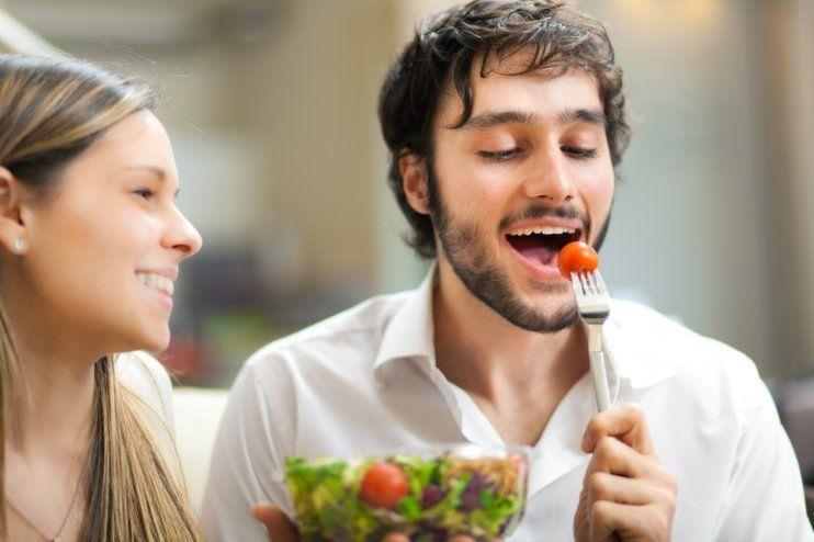 makan dikit, tapi teratur