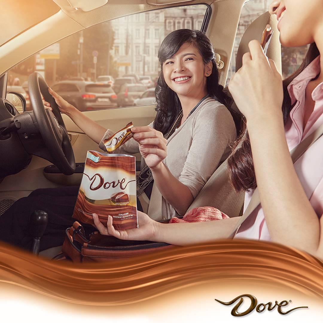 Dove Chocolate sharing pack yang bisa diandalkan