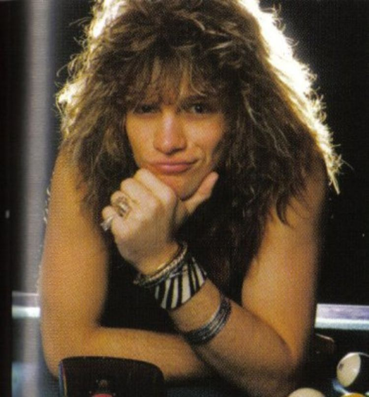 1983, big hair.