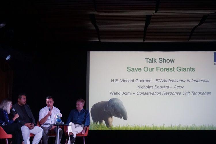pas lagi talk show perlindungan gajah bersama Uni Eropa
