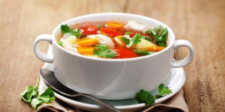 sup sayuran komplit