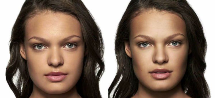 Efek makeup emang keren banget