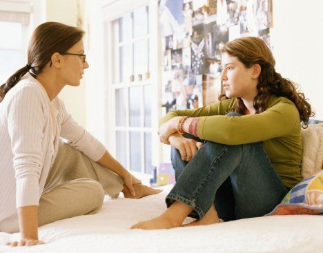 bicarakan dengan orang terdekat