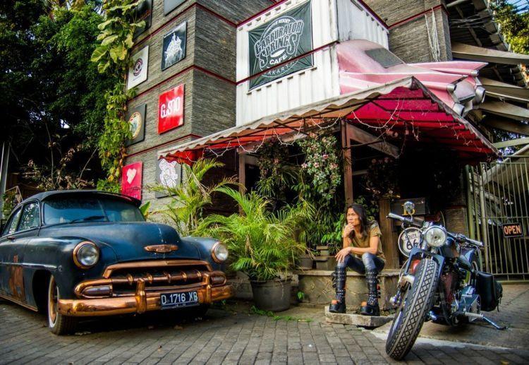 kafe asri ala-ala bikers