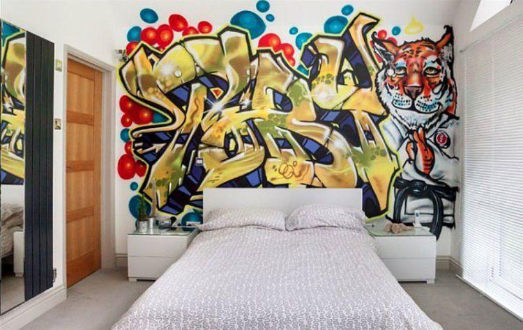 grafiti di dinding kamar juga oke