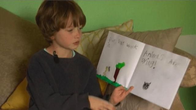 tekad yang kuat dari anak usia 6 tahun