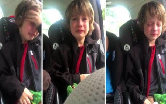 Henry menangis