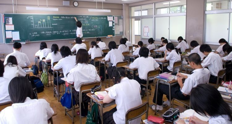 para siswa di Jepang nggak diperbolehkan membawa gadget
