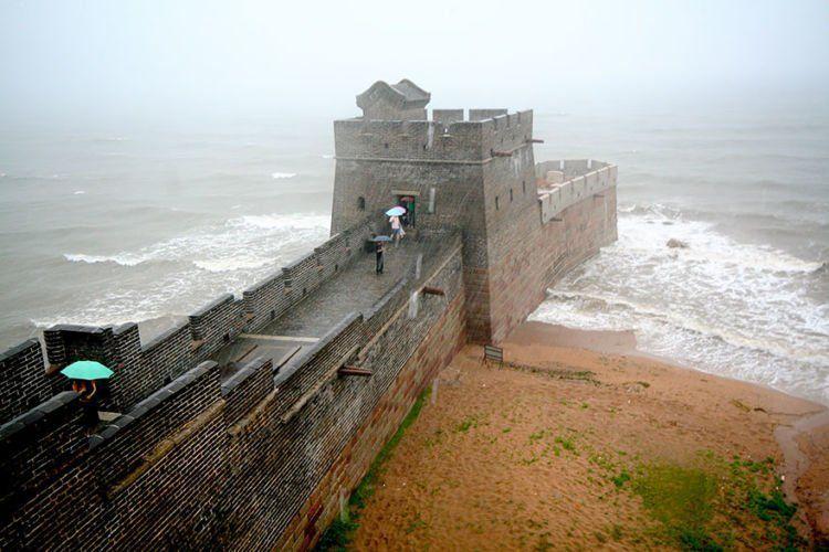 Ini nih ujungnya Tembok Cinta eh Cina..