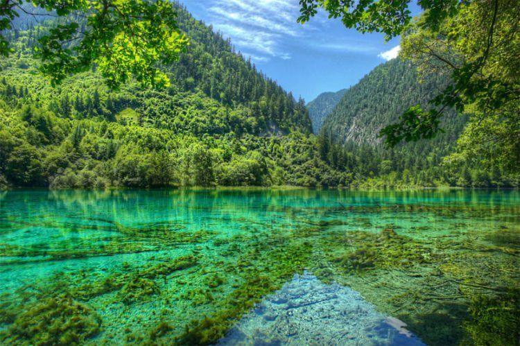 Jiuzhaigou Valley...