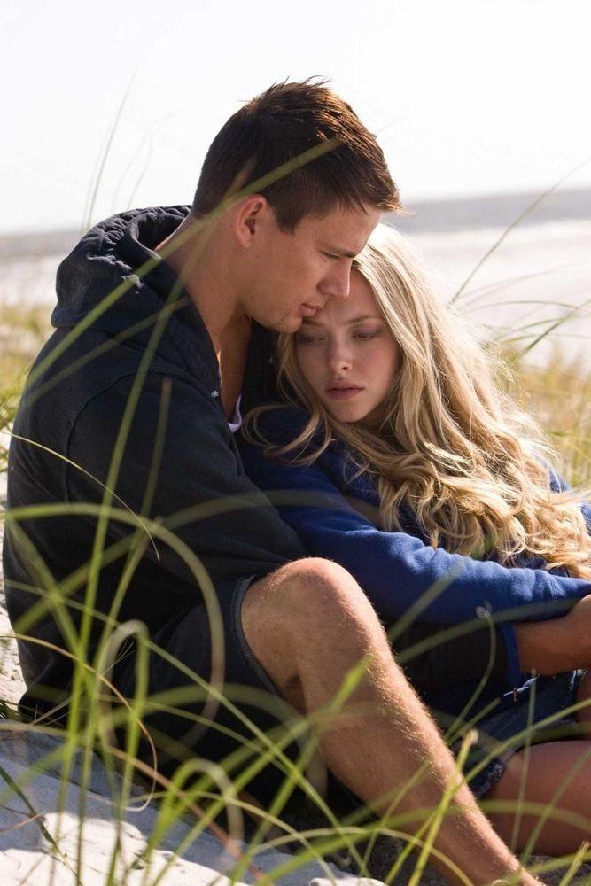Channing Tatum (left) and Amanda Seyfried star in Screen Gems' romantic drama DEAR JOHN.