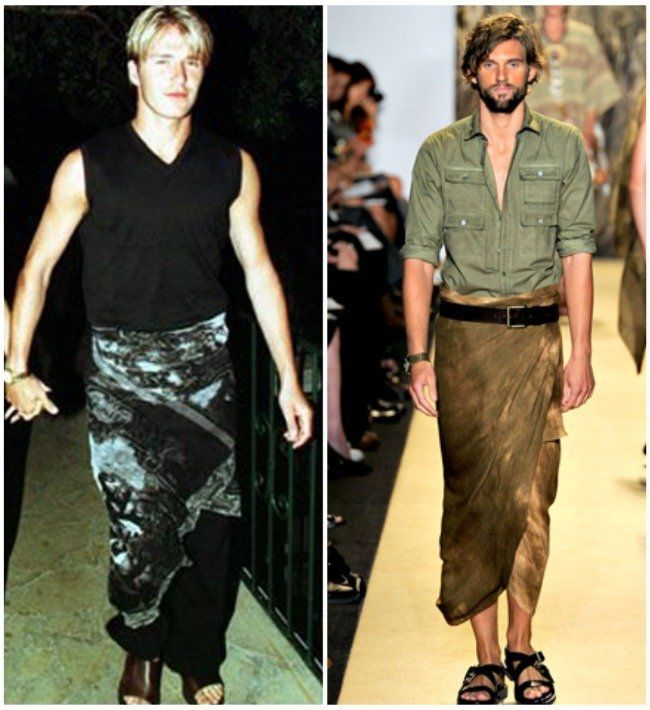 padanan sarung hitam dan sandal kulit coklat atau sebaliknya