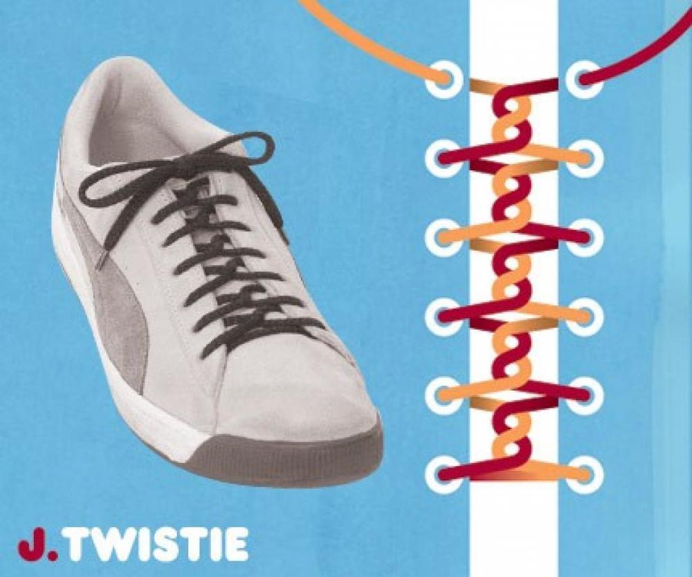 Как шнурки сделать толще
