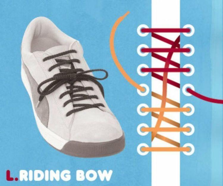riding bow.