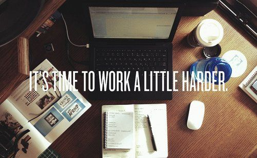 Bisa, asal kerja keras!