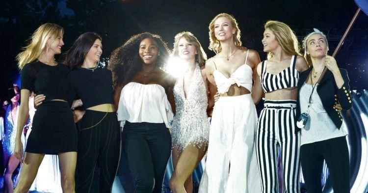 Dukungan untuk Taylor dan semua yang dirugikan dalam videonya Kanye