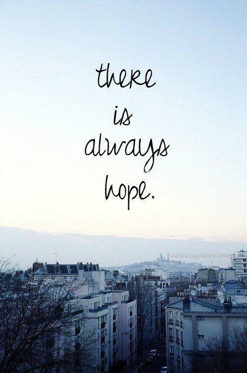 Selalu ada harapan..