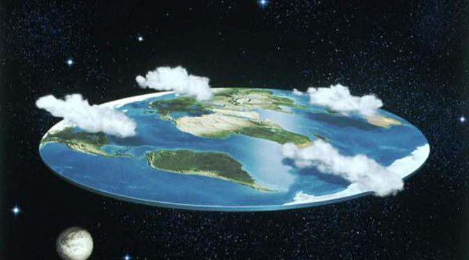 Bumi datar~